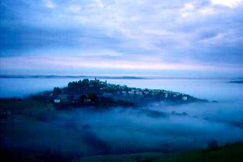 Veduta di Montemaggiore al Metauro